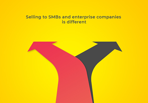How selling to SMBs and enterprise companies is different